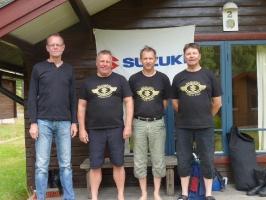 Janne, Björn, Martin och Peter